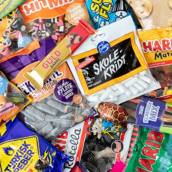 Best Danish Junk Food_Popular Candy Licorice in Denmark