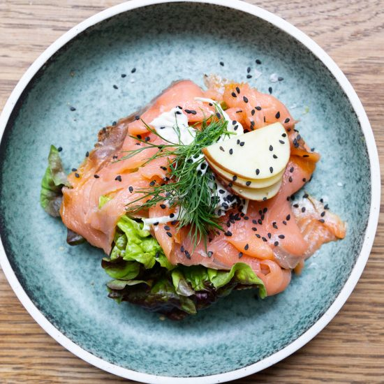 Where to eat smørrebrød in Copenhagen_A Danish open-face sandwich from Fars Dreng