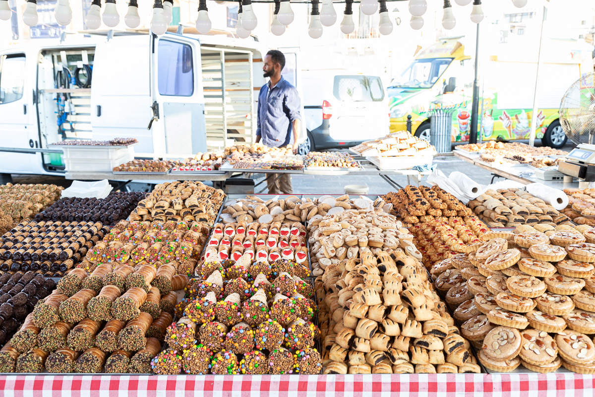 Marsaxlokk Sunday Market Malta Things to Do Maltese Food Pastry Cannoli