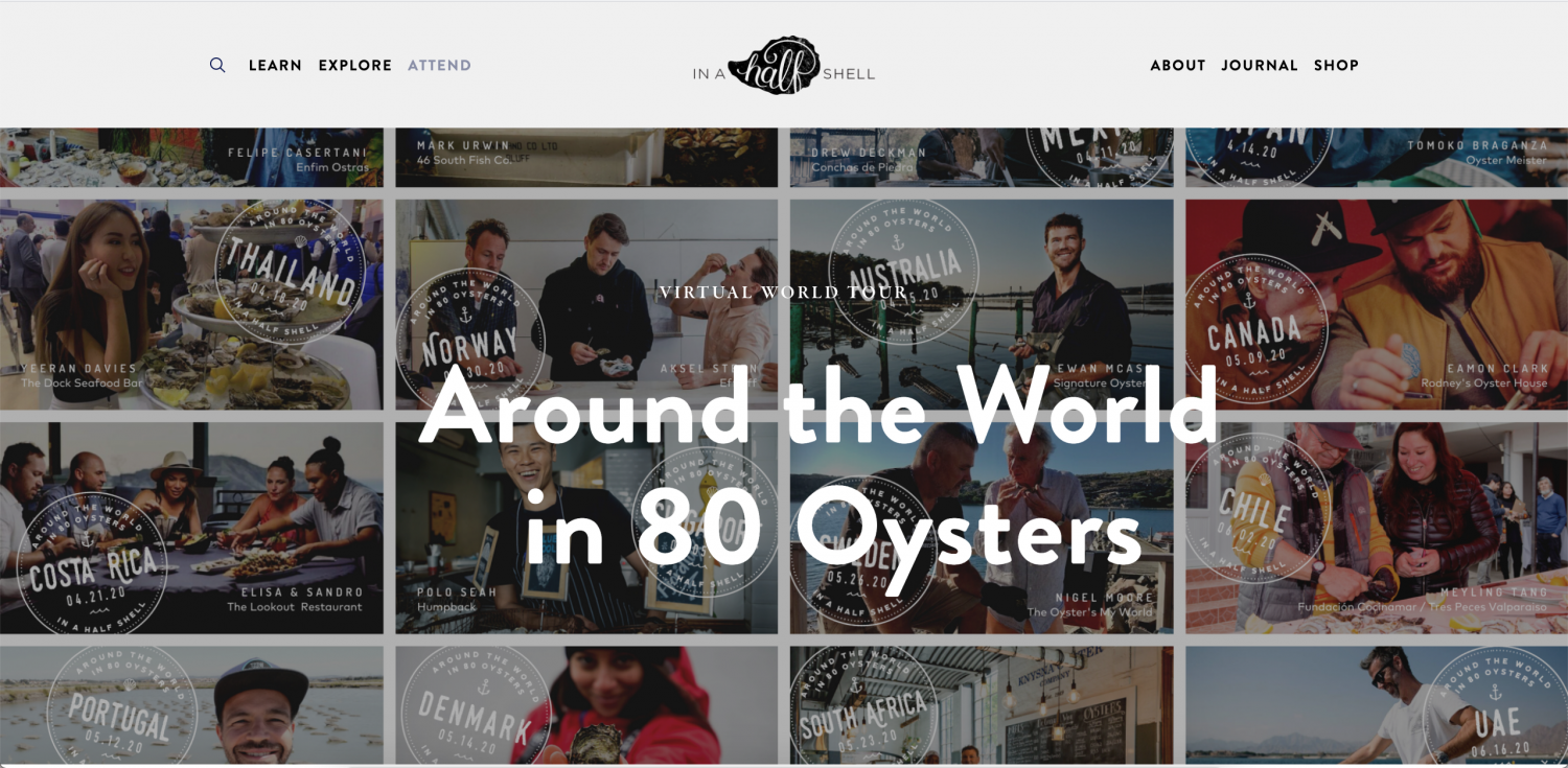 Around the World in 80 Oysters Jaughna Nielsen-Bobbit Denmark Interview Danish Oysters Limfjorden
